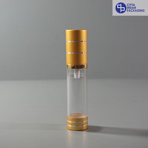 Botol Airless 20 ml-Gold