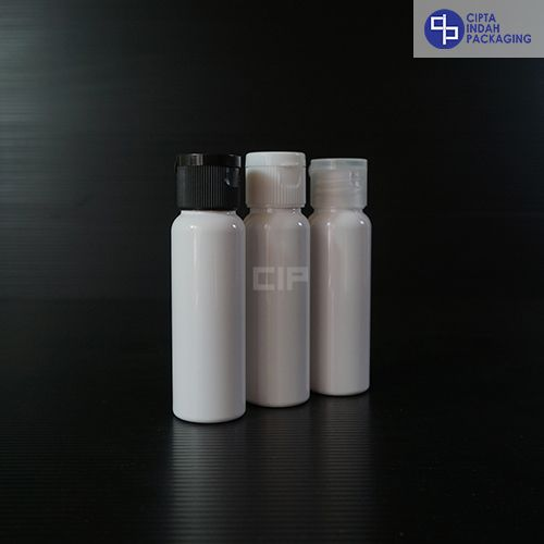 Botol Fliptop 30 ml - Putih (1)