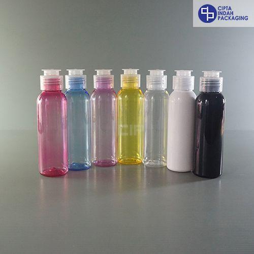 Botol Fliptop Topi 100 ml-warna