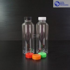 Botol Plastik Almond 250 ml