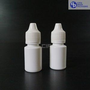Botol Plastik Tetes 10 ml-Putih