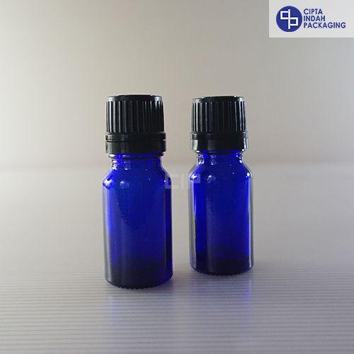 Botol Filler 10 ml Biru-Tutup Hitam