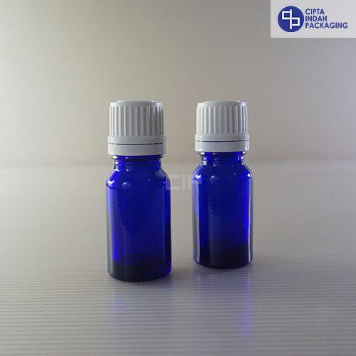 Botol Filler 10 ml Biru-Tutup Putih