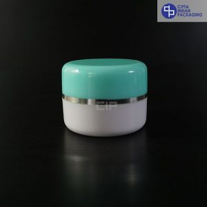 Pot Cream 12,5 gr Hijau Melon-Bahan PS