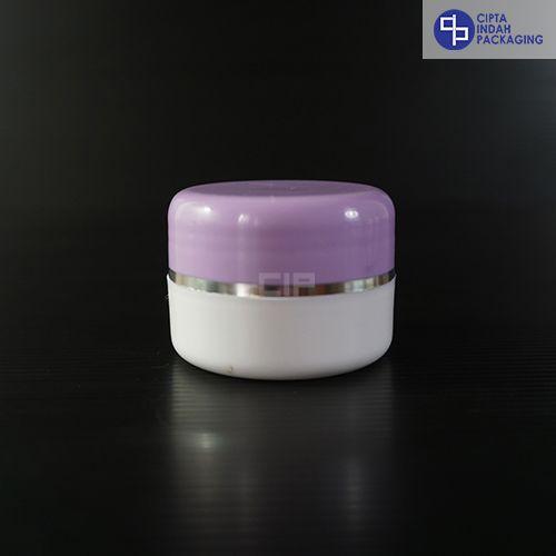 Pot Cream 12,5 gr-Ungu Putih