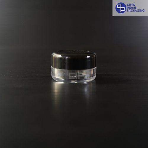 Pot Cream 5 gr-Hitam transparan