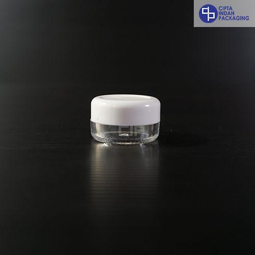 Pot Cream 5 gr-Putih transparan