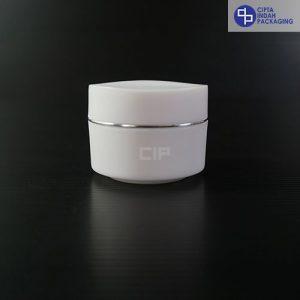 Pot PP Bunga 15 gr-Putih