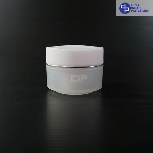 Pot PP Bunga 15 gr-Putih Natural