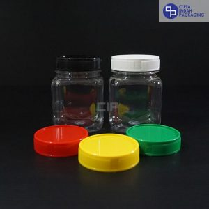 Toples Plastik 200 ml-Kotak