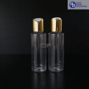 Botol Disctop 100 ml RF-Tutup Gold Chrome