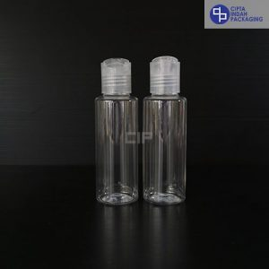 Botol Disctop 100 ml RF-Tutup Transparan