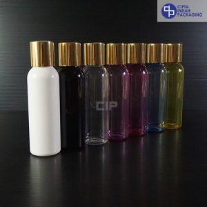 Botol Disctop 100 ml-Tutup Gold Chrome