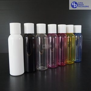 Botol Disctop 100 Ml–Tutup Putih