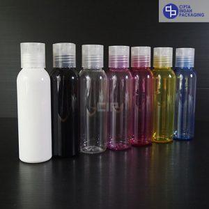 Botol Disctop 100 Ml–Tutup Transparan