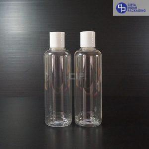 Botol Disctop 250 ml Bening-Tutup Putih