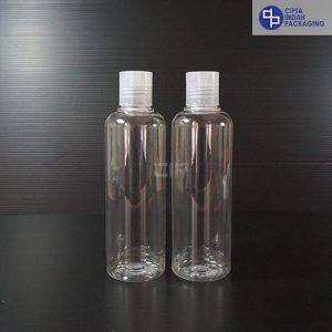 Botol Disctop 250 ml Bening-Tutup Transparan