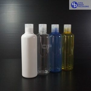 Botol Disctop 250 ml-Tutup Transparan