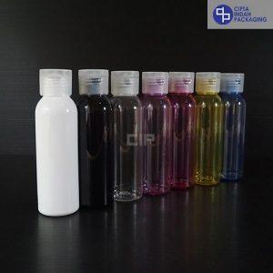 Botol Fliptop 100 Ml-Tutup Transparan