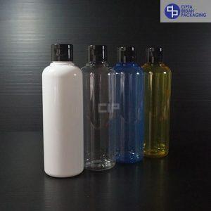 Botol Fliptop 250 ml-Tutup Hitam