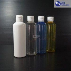 Botol Fliptop 250 ml-Tutup Putih