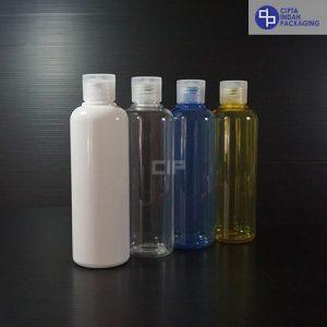 Botol Fliptop 250 ml-Tutup Transparan