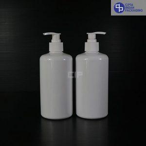 Botol Pump 500 Ml–Putih