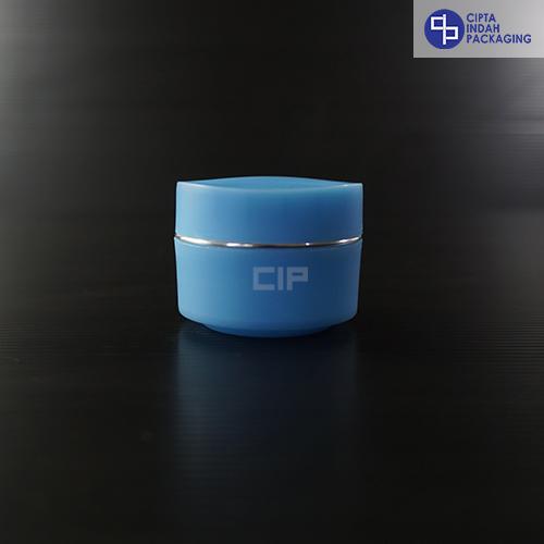 Pot PP Bunga 15 Gr-Biru