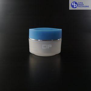 Pot PP Bunga 15 Gr-Biru Natural