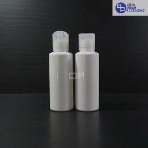Botol Disctop 100 ml RF Putih -Tutup Natural