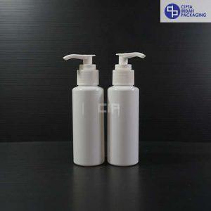 Botol Pump 100 ml RF Putih-Tutup Putih