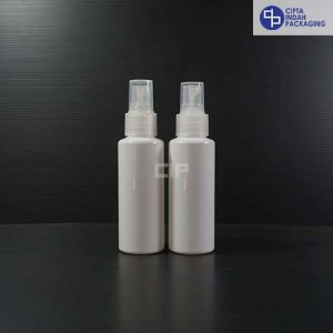 Botol Spray 100 ml RF Putih-Tutup Natural