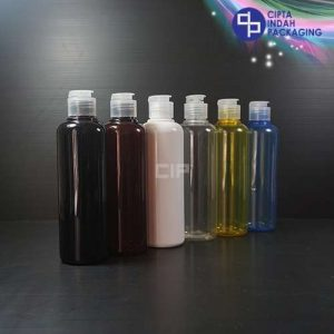 Botol Fliptop Topi 250 ml Warna-Tutup Natural