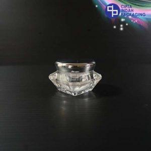 Pot Acrylic Diamond 10 gr - tutup silver